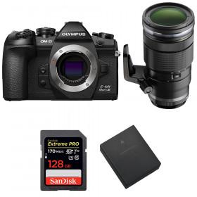 Olympus OM-D E-M1 Mark III + ED 40-150mm f/2.8 PRO + SanDisk 128GB UHS-I 170 MB/s + Olympus BLH-1   2 Years Warranty