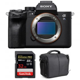Sony Alpha a7S III Body + SanDisk 32GB Extreme PRO UHS-II SDXC 300 MB/s + Bag | 2 Years Warranty