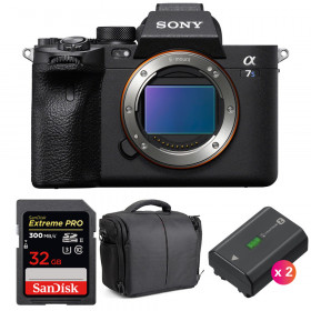 Sony Alpha a7S III Body + SanDisk 32GB Extreme PRO UHS-II SDXC 300 MB/s + 2 Sony NP-FZ100 + Bag | 2 Years Warranty