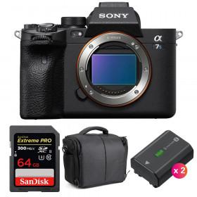 Sony Alpha a7S III Body + SanDisk 64GB Extreme PRO UHS-II SDXC 300 MB/s + 2 Sony NP-FZ100 + Bag | 2 Years Warranty