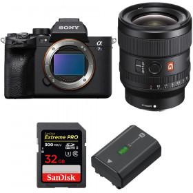 Sony Alpha a7S III + FE 24mm f/1.4 GM + SanDisk 32GB Extreme PRO UHS-II SDXC 300 MB/s + Sony NP-FZ100   2 Years Warranty