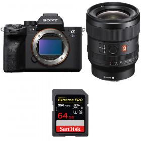 Sony Alpha a7S III + FE 24mm f/1.4 GM + SanDisk 64GB Extreme PRO UHS-II SDXC 300 MB/s   2 Years Warranty