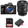 Sony Alpha a7S III + FE 24mm f/1.4 GM + SanDisk 64GB Extreme PRO UHS-II SDXC 300 MB/s + 2 Sony NP-FZ100   2 Years Warranty
