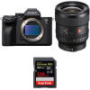 Sony Alpha a7S III + FE 24mm f/1.4 GM + SanDisk 128GB Extreme PRO UHS-II SDXC 300 MB/s | 2 Years Warranty