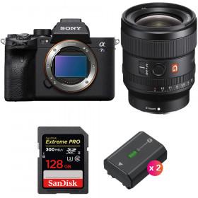 Sony Alpha a7S III + FE 24mm f/1.4 GM + SanDisk 128GB Extreme PRO UHS-II SDXC 300 MB/s + 2 Sony NP-FZ100   2 Years Warranty