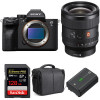 Sony Alpha a7S III + FE 24mm f/1.4 GM + SanDisk 128GB Extreme PRO UHS-II SDXC 300 MB/s + NP-FZ100 + Bag | 2 Years Warranty