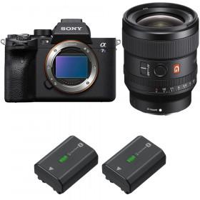 Sony Alpha a7S III + FE 24mm f/1.4 GM + 2 Sony NP-FZ100   2 Years Warranty