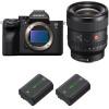 Sony Alpha a7S III + FE 24mm f/1.4 GM + 2 Sony NP-FZ100 | 2 Years Warranty