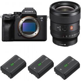 Sony Alpha a7S III + FE 24mm f/1.4 GM + 3 Sony NP-FZ100   2 Years Warranty