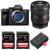 Sony Alpha a7S III + FE 24mm f/1.4 GM + 2 SanDisk 128GB Extreme PRO UHS-II SDXC 300 MB/s + 2 Sony NP-FZ100 | 2 Years Warranty