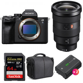 Sony Alpha a7S III + FE 16-35mm f/2.8 GM + SanDisk 64GB Extreme PRO UHS-II 300 MB/s + 2 NP-FZ100 + Sac