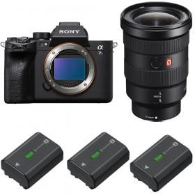 Sony Alpha a7S III + FE 16-35mm f/2.8 GM + 3 Sony NP-FZ100