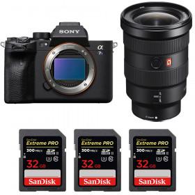 Sony Alpha a7S III + FE 16-35mm f/2.8 GM + 3 SanDisk 32GB Extreme PRO UHS-II SDXC 300 MB/s