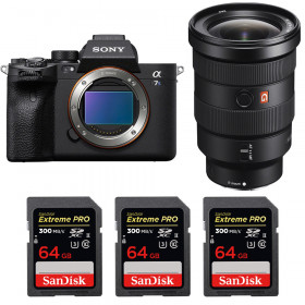 Sony Alpha a7S III + FE 16-35mm f/2.8 GM + 3 SanDisk 64GB Extreme PRO UHS-II SDXC 300 MB/s