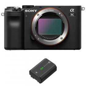 Sony Alpha a7C Nu Noir + 1 Sony NP-FZ100