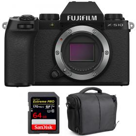 Fujifilm X-S10 ( XS10 ) Nu + SanDisk 64GB Extreme Pro UHS-I SDXC 170 MB/s + Sac