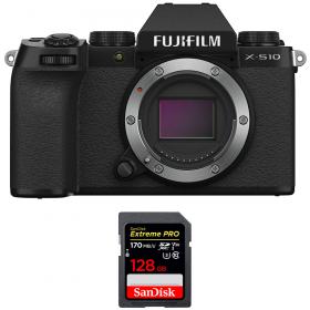 Fujifilm X-S10 ( XS10 ) Nu + SanDisk 128GB Extreme Pro UHS-I SDXC 170 MB/s