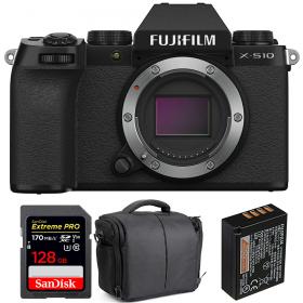 Fujifilm X-S10 ( XS10 ) Nu + SanDisk 128GB Extreme Pro UHS-I SDXC 170 MB/s + Fujifilm NP-W126S + Sac