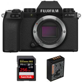 Fujifilm X-S10 ( XS10 ) Nu + SanDisk 256GB Extreme Pro UHS-I SDXC 170 MB/s + Fujifilm NP-W126S