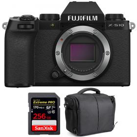 Fujifilm X-S10 ( XS10 ) Nu + SanDisk 256GB Extreme Pro UHS-I SDXC 170 MB/s + Sac