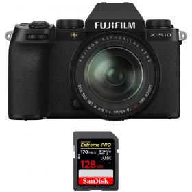 Fujifilm X-S10 ( XS10 ) + XF 18-55mm f/2.8-4 R LM OIS + SanDisk 128GB Extreme Pro UHS-I SDXC 170 MB/s