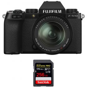Fujifilm X-S10 ( XS10 ) + XF 18-55mm f/2.8-4 R LM OIS + SanDisk 256GB Extreme Pro UHS-I SDXC 170 MB/s