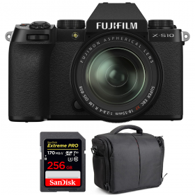 Fujifilm X-S10 ( XS10 ) + XF 18-55mm f/2.8-4 R LM OIS + SanDisk 256GB Extreme Pro UHS-I SDXC 170 MB/s + Bolsa