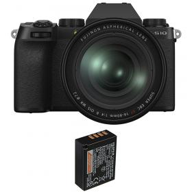 Fujifilm X-S10 ( XS10 ) + XF 16-80 F/4 WR + 1 Fujifilm NP-W126S