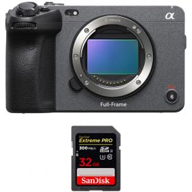 Sony FX3 Camera Cinéma + SanDisk 32GB Extreme PRO UHS-II SDXC 300 MB/s