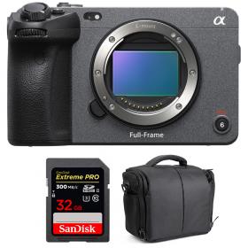 Sony FX3 Camera Cinéma + SanDisk 32GB Extreme PRO UHS-II SDXC 300 MB/s + Sac