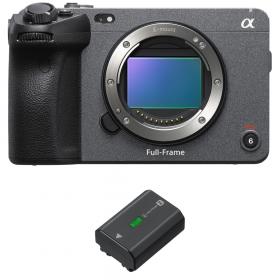 Sony FX3 Cinema camera + Sony NP-FZ100