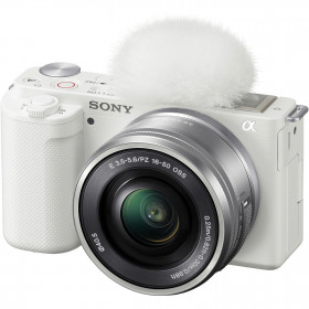 Cámara mirrorless Sony ZV-E10 + 16-50mm Blanco